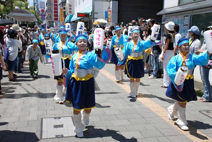 お祭りだ〜〜 :