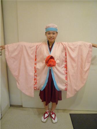 2010年上町よさこい鳴子連衣装1