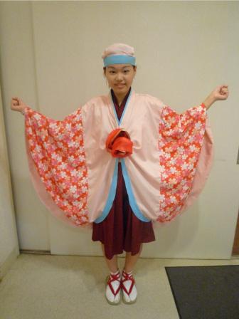 2010年上町よさこい鳴子連衣装2