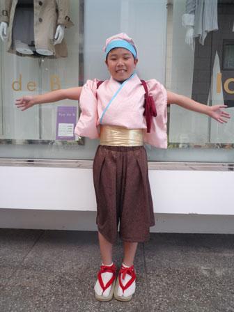2010年男の子衣装