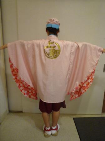2010年上町よさこい鳴子連衣装3